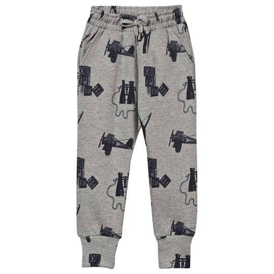 Soft Gallery Jules Sweat Pants Stone Melange, AOP Playtime Stone Melange, AOP Playtime