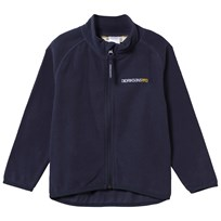 Didriksons Monte Kid's Microfleece Jacket Navy Navy