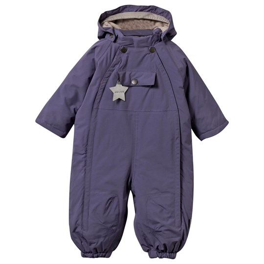 Mini A Ture Wisti M Snowsuit Purple Heart Purple Heart