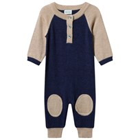 Mini A Ture Sean Baby One-Piece Grisaille/Blå Grisaille Blue