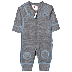 Reima Lauha Wool One-Piece Mid Grey/Blue