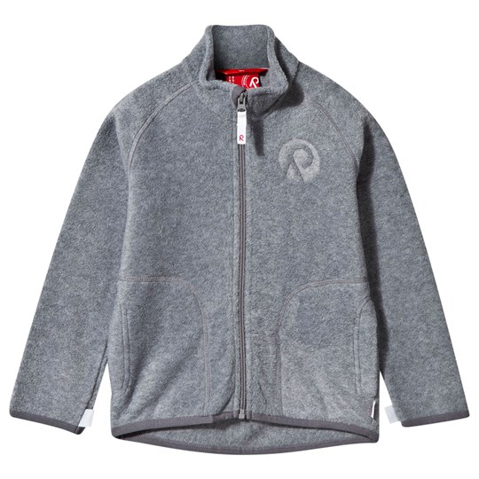 Reima Inrun Fleece Jacket Mid Grey Mid Grey