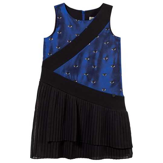 Kenzo Amaya Dress Electric Blue Electric Blue