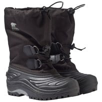 Sorel Youth Super Trooper™ Boots Black, Light Grey Black, Light Grey