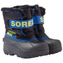 Sorel Children's Snow Commander™ Boots Black, Super Blue Black, Super Blue