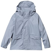 Mini A Ture Julien Rain Jacket Ashley Blue Ashley Blue