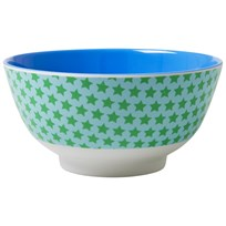 RICE A/S Melamine Bowl Two Tone with Star Print Star Print