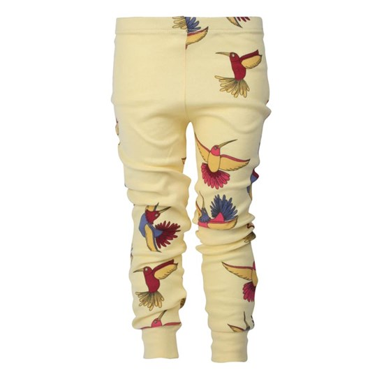 Mini Rodini Leggings Sunbird Yellow