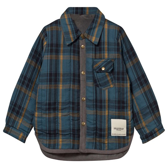 MarMar Copenhagen Jacket Tommy Quilt Legion Blue Check 933 Legion Blue Check