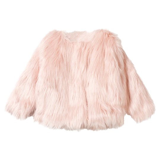 Christina Rohde Faux Fur Jacket Pink