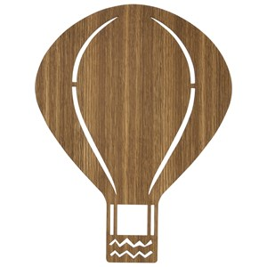 Image of ferm LIVING Air Balloon Lamp - Smoked Oak (2805092931)