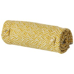 ferm LIVING Curry Wave Changing Blanket