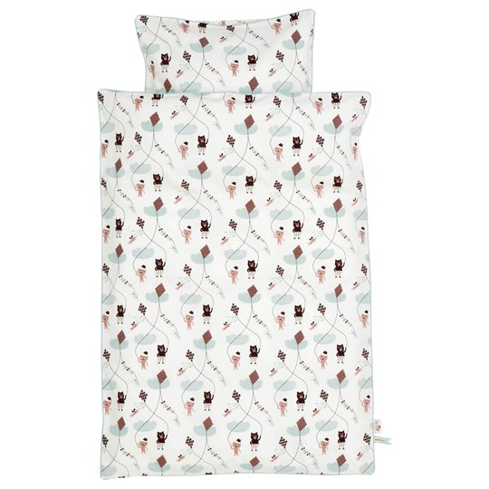 ferm LIVING Kite Bedding - Rose - Junior Multi