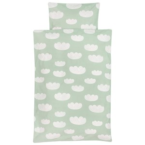 Image of ferm LIVING Cloud Bedding - Mint - Baby (3058026027)