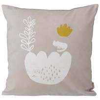 ferm LIVING Landscape Cushion - Grey Black