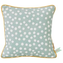 ferm LIVING Dots Cushion - Dusty Blue Dots