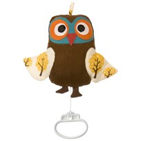 ferm LIVING Owl Music Mobile Owl