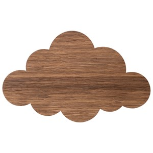 Image of ferm LIVING Cloud Lamp - Smoked Oak One Size (458458)