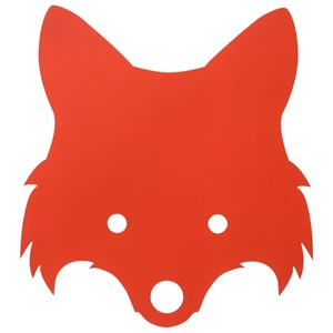 Image of ferm LIVING Fox Lamp - Red Orange One Size (458459)