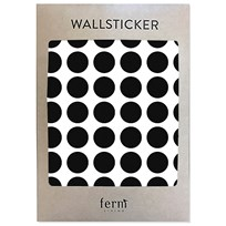 ferm LIVING Mini Dots Wallsticker Black Black