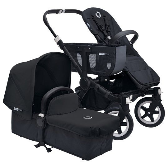 Bugaboo Donkey+ Duo Extension Set Black/Black Musta