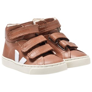 Image of Veja Esplar Mid Small Leather Tuile Pierre 24 EU (3065504689)