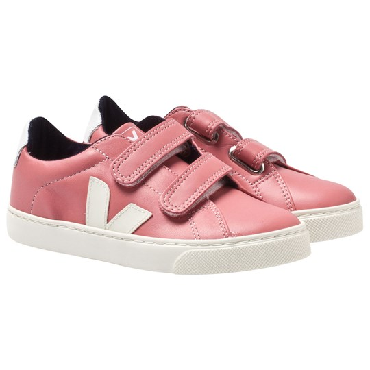Veja Esplar Velcro Leather Blush Pierre BLUSH PIERRE