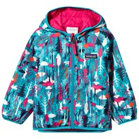 Patagonia Baby Reversable Puff-Ball Jacket Pine Friends Epic Blue Pine Friends Epic Blue