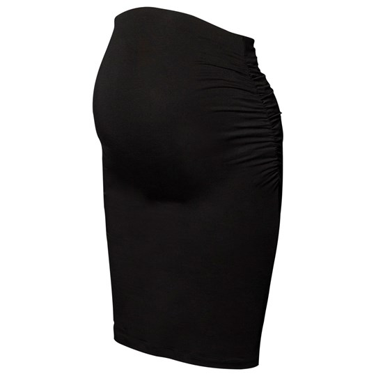 Boob Once-On-Never-Off Ruched Skirt Black Black