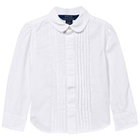 Ralph Lauren Pleated Shirt White White