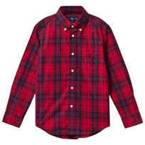 Ralph Lauren Long Sleeve Shirt Red/Navy Red/navy Multi