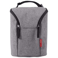 Skip Hop Grab & Go Double Bottle Bag Grey