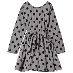 How To Kiss A Frog Adele Dress Dk Grey Heart