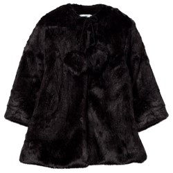 How To Kiss A Frog Muriel Coat Black
