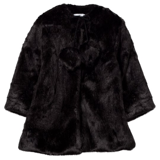 How To Kiss A Frog Muriel Coat Black Black