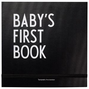 Image of Design Letters Baby´s First Book Black (2882746677)