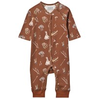 Anïve For The Minors Baby One-Piece Sioux Brown