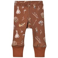Anïve For The Minors Baby Leggings Sioux Brown
