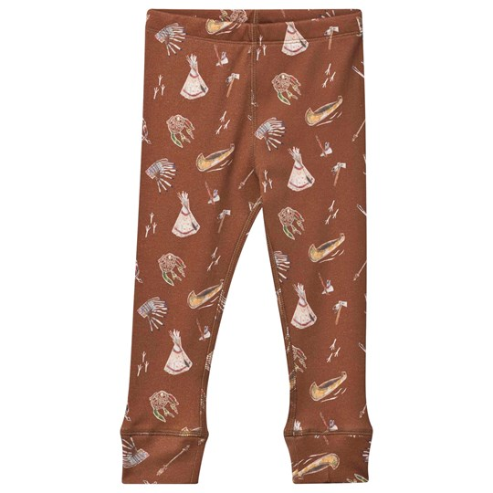 Anïve For The Minors Leggings Sioux Brown