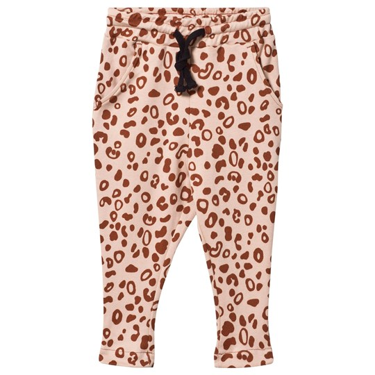 Anïve For The Minors Trousers Leo Spots ROSA/BRUN