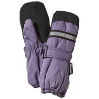 Mikk-Line Basic Winter Mittens Light Purple Light purple