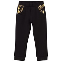 Young Versace Baroque Pants Black NERO/MULT