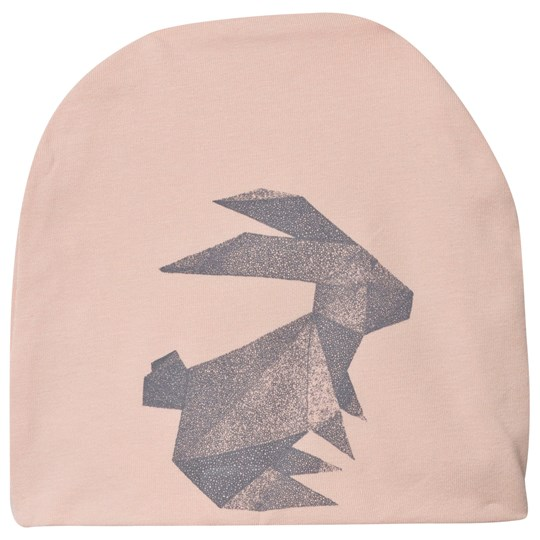 One We Like Hat Origami Rabbit Pink Pink