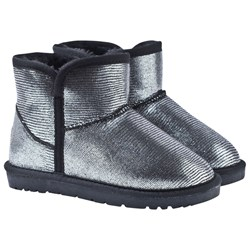 Petit by Sofie Schnoor Silver Low Teddy Boots