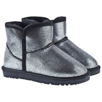 Petit by Sofie Schnoor Silver Low Teddy Boots Silver