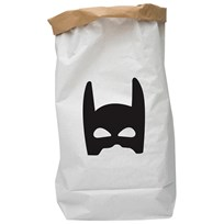 Tellkiddo Superhero Paper Bag White