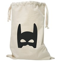 Tellkiddo Superhero Fabric Bag White
