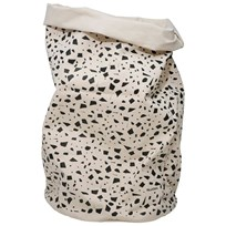 Tellkiddo Dot Round Fabric Bag White