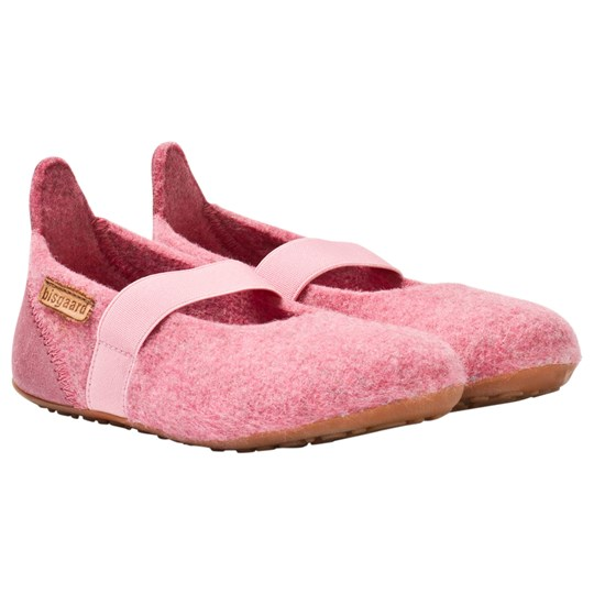 Bisgaard Home Wool Ballet Shoe Rose 91 Rosa