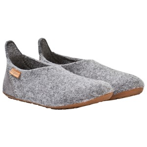 Image of Bisgaard Basic Wool Home Shoe Grey 35 EU (2902968925)